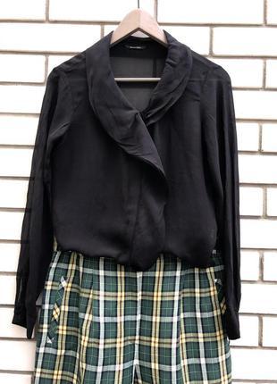 Шелковая блузка massimo dutti