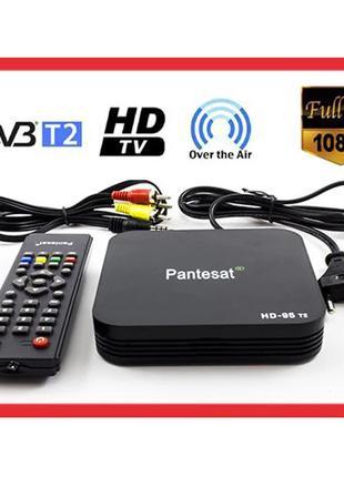 Цифровой Тюнер T2 приставка HDMI USB 2.0 Pantesat HD-95