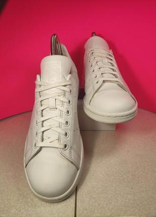Adidas stan smith кроссовки кожаные