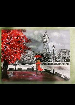 """Срочно продам картину """"Лондон наша любовь"""""""
