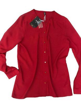 Блуза красного цвета tm moodo xs s новая!