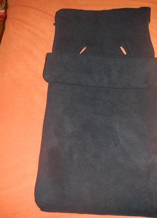 Теплый чехол в коляску prenatal р.49смх95см футмуф санки