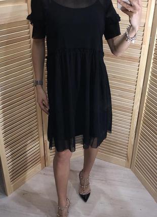 Платье из сетки h&m
