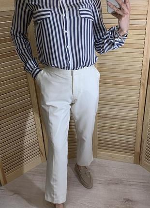 Стильные белые брюки miss selfridge