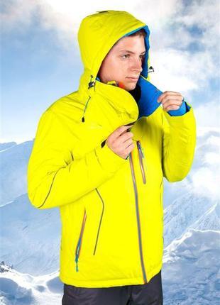 Горнолыжная куртка мужская freever 7159 желтая