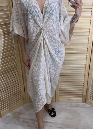 Платье накидка из текущей коллекции h&m conscious