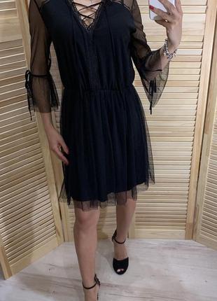 Красивое платье из сетки primark