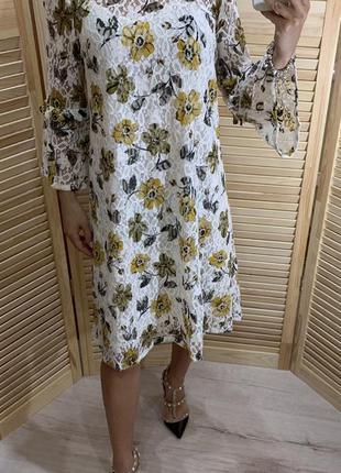 Красивое кружевное платье marks spencer