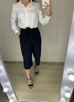 Легкие брюки кюлоты primark
