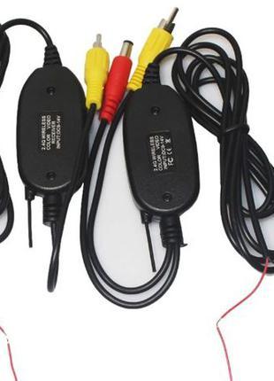 Беспроводной приемник передатчик камера заднего вида беспроводная