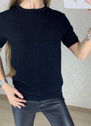 Джемпер с коротким рукавом zara