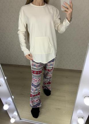 Мягенькая флисовая пижама, комплект для дома