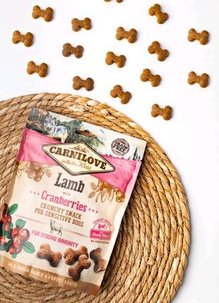 Лакомства для собак Carnilove Dog Crunchy Snack