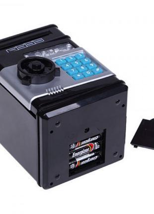 Игрушка сейф с кодовым замком NUMBER BANK EL-510
