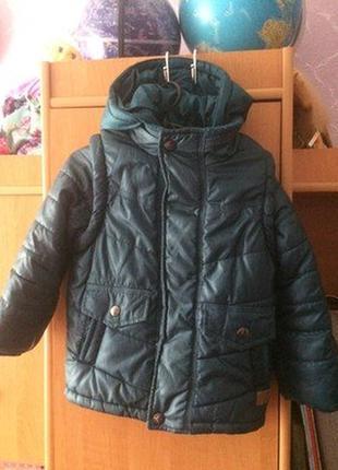 Куртка, зима, внутри флис, debenhams.