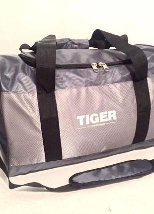 Спортивная дорожная сумка 28л серая