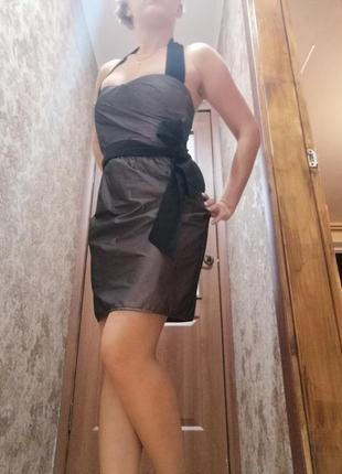 Платье zara basic xs