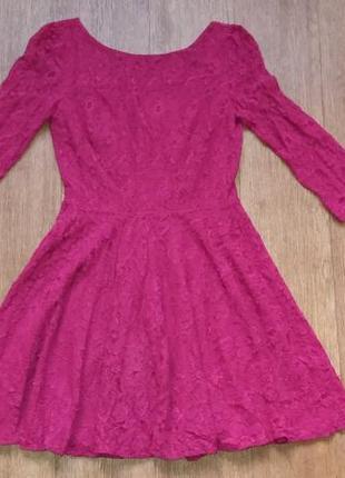 Платье из гипюра нарядное