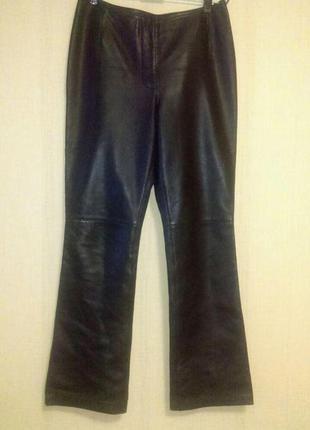 Кожаные модные  брендовые   джинсы брючки оригинал