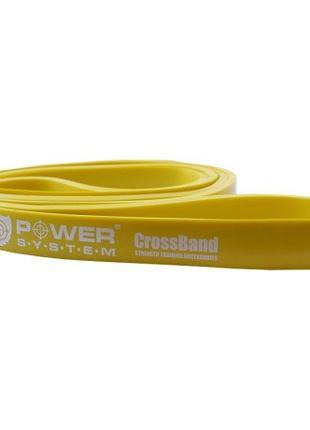 Резина для тренувань CrossFit Level 1 Yellow PS - 4051