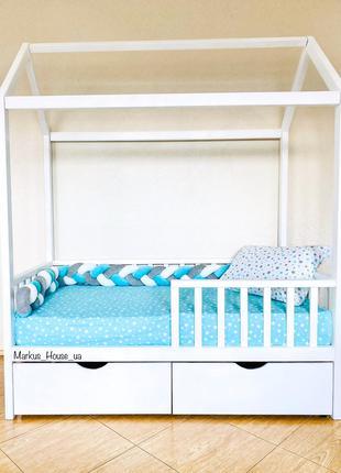 Детская кровать. Кроватка домик 160*80 см
