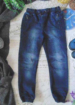 8-9лет.моднячие джинсы джоггеры george