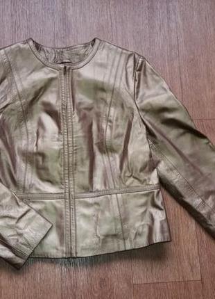 Куртка фирменная из натуральной кожи