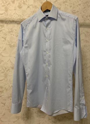 Голубая рубашка seven seas!