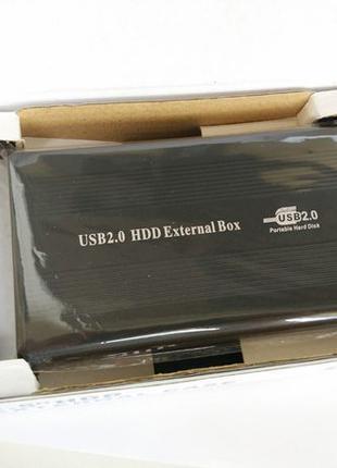 """Карман для жесткого диска 2.5"""" HDD, SSD, SATA (Новый) USB 2.0"""
