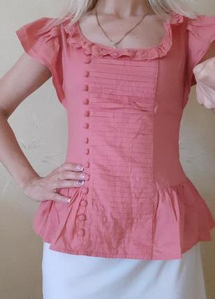 Блузка летняя с рюшами
