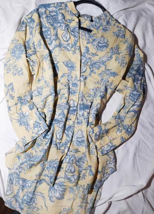 Удлиненная рубашка, туника