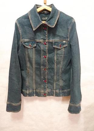 Джинсова женская куртка пиджак laurel