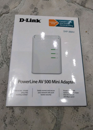 D-link dhp 308av power line. Можно комплект +3 блока еще
