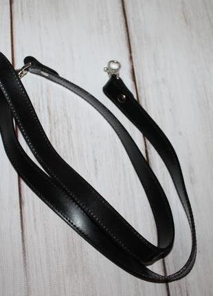 Кожаный плечевой ремень/длинная ручка на сумку 100% натуральна...