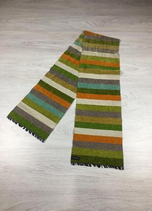 Красивый яркий шарф hannast акриловый шарфик!