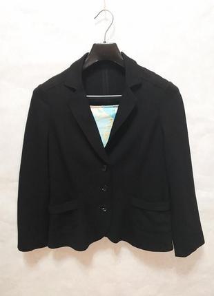 Marc cain пиджак на каждый день черного цвета м
