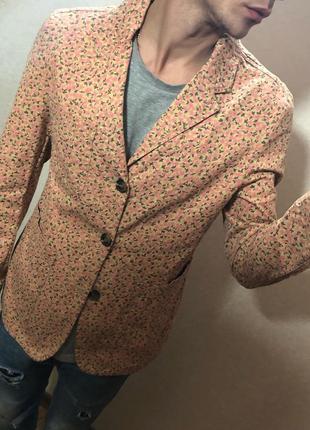 Блейзер / пиджак asos с цветочным принтом !