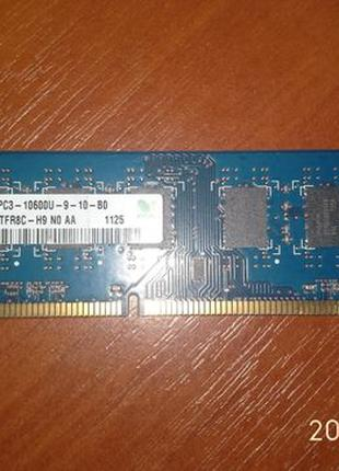 Память DDR3 2Gb Hunix 10600 частотой 1333MHz 16 модульная