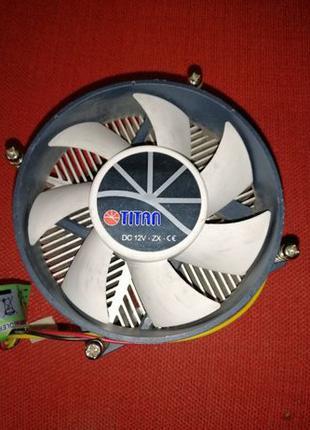 Кулер для процессора Intel Socket 115x TITAN TTC-NA32TZ/R