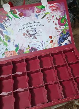 Коробка от чая органайзер для мелочей