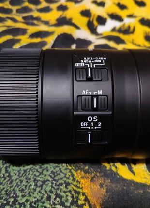 Длиннофокусный объектив Sigma AF 105mm f/2,8 EX DG OS HSM Nikon