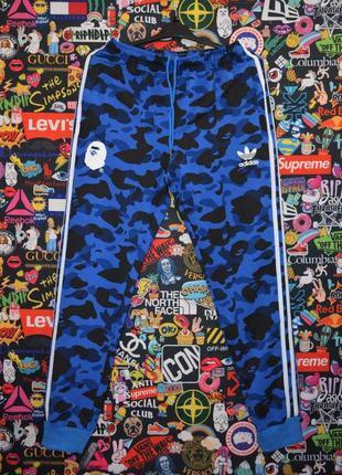 👖 спортивные штаны bape x adidas 👖 (арт. 1073)