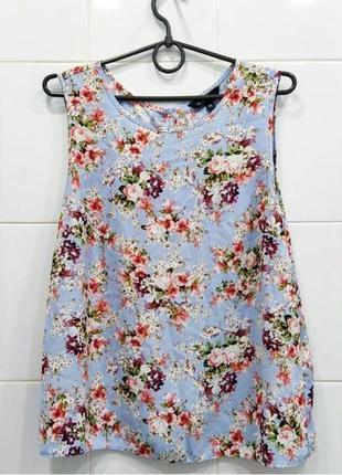 В наличии стильная блуза в цветочный принт