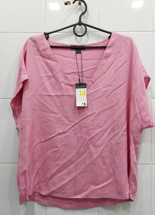 Стильная натуральная блуза из вискозы