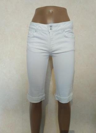 Джинсовые шорты бриджи плотный деним 18/52-54 размера