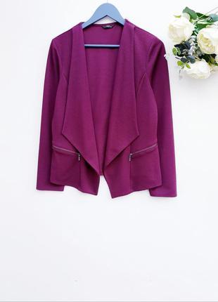 Красивый пиджак жакет кардиган стильный кардиган с фактурной т...