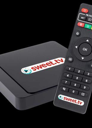 ТВ приставка + «SWEET.TV» L на 3 міс
