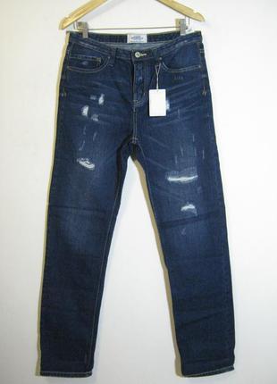 Демисезонные прямые джинсы springfield новые арт.970 + 2000 по...