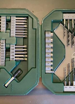 Набор насадок Bosch X-Line 65шт бит сверл ключей шуруповерт ин...