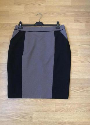 Элегантная модная юбка-карандаш бренда f&f. новая. р-р xxl/наш 52